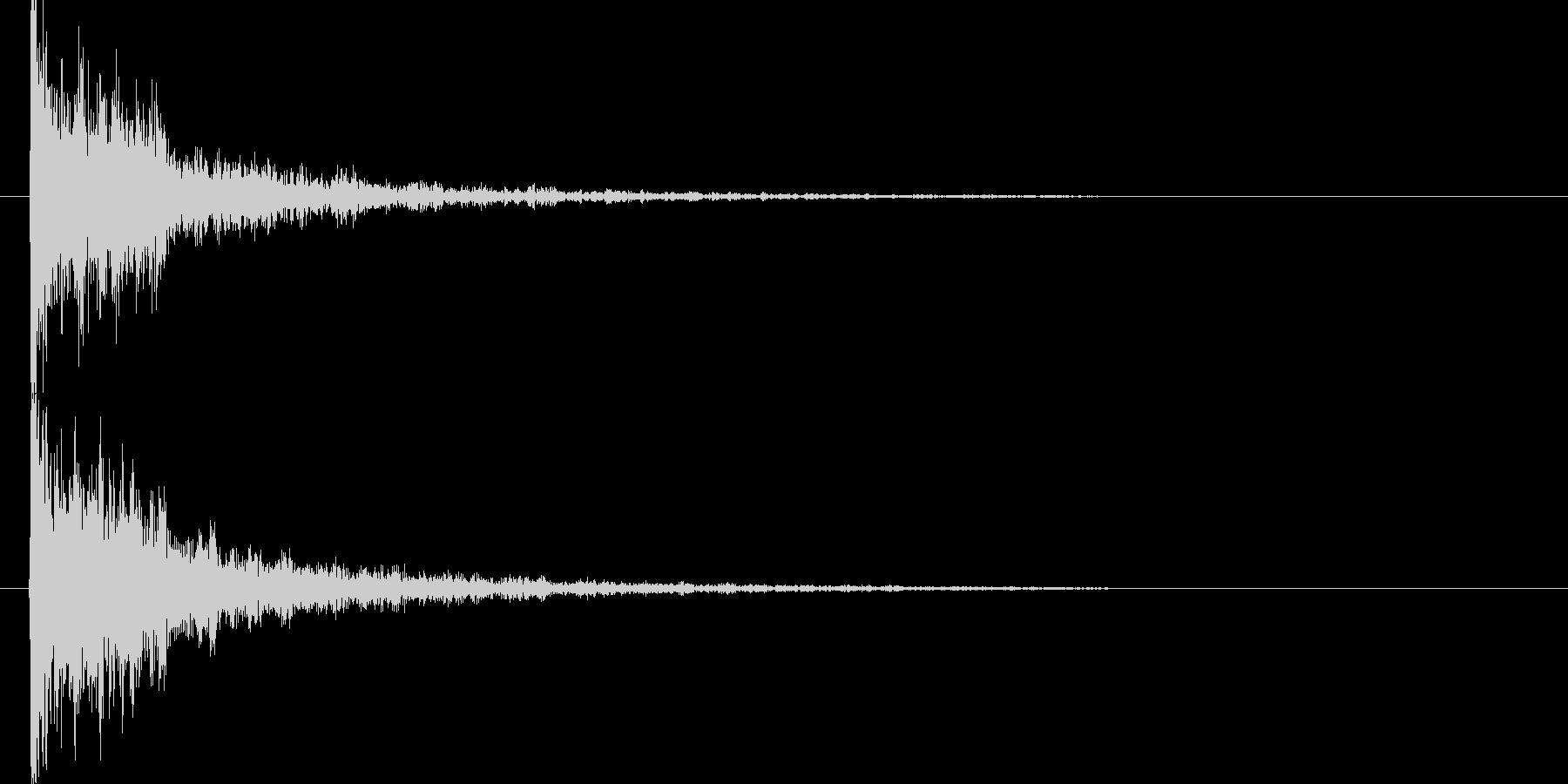 映画告知音144 ドーンの未再生の波形