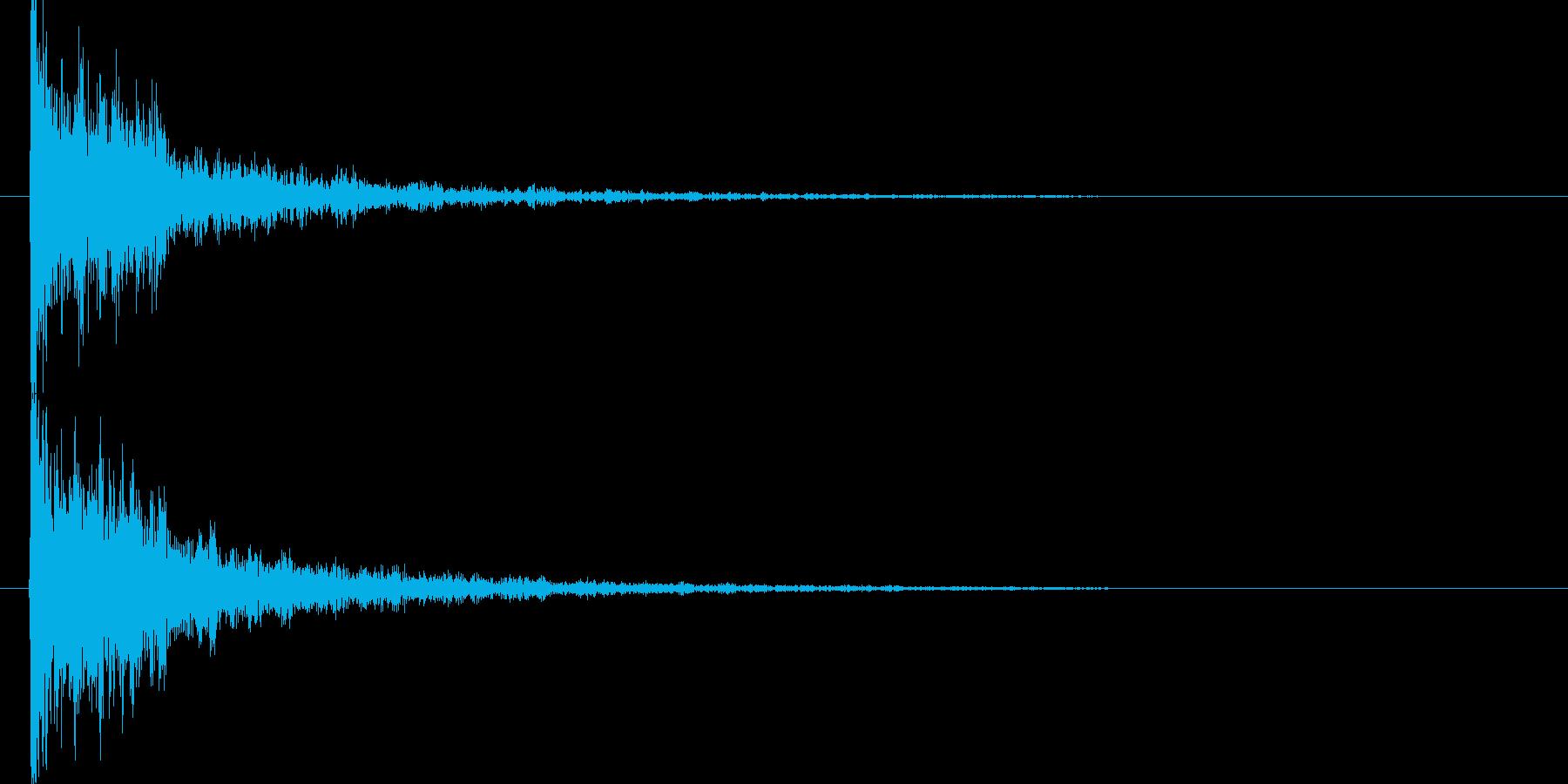 映画告知音144 ドーンの再生済みの波形