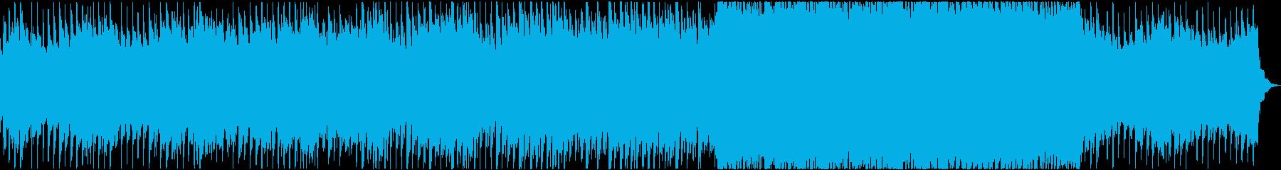 わくわく広がる 優しいオーケストラ系の再生済みの波形