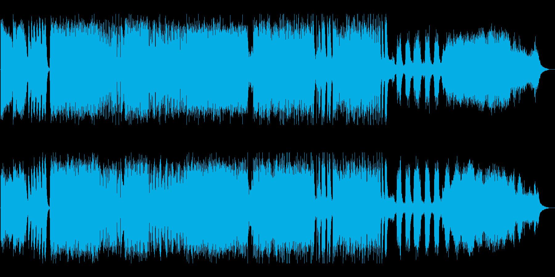 ホルスト 木星 SF風アレンジの再生済みの波形