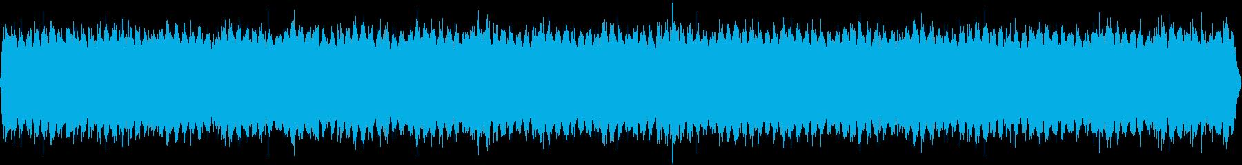 睡眠ヒーリング作業瞑想BGMの再生済みの波形
