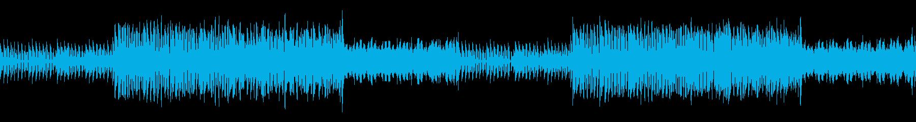 【ループ可】トランスBGMの再生済みの波形