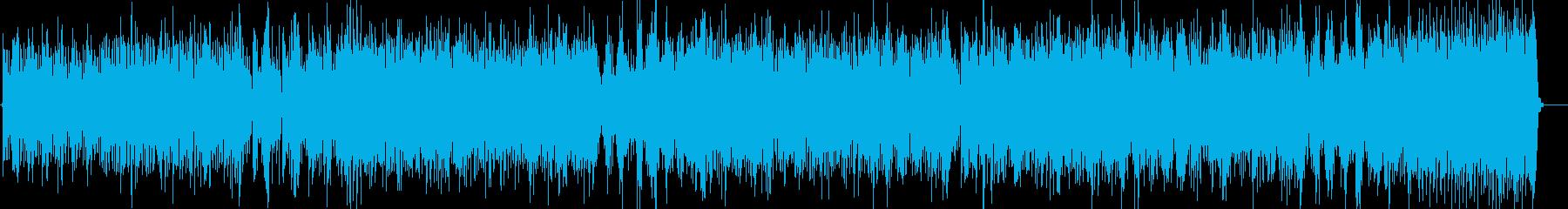 オンザコーナー電化マイルスっぽいファンクの再生済みの波形