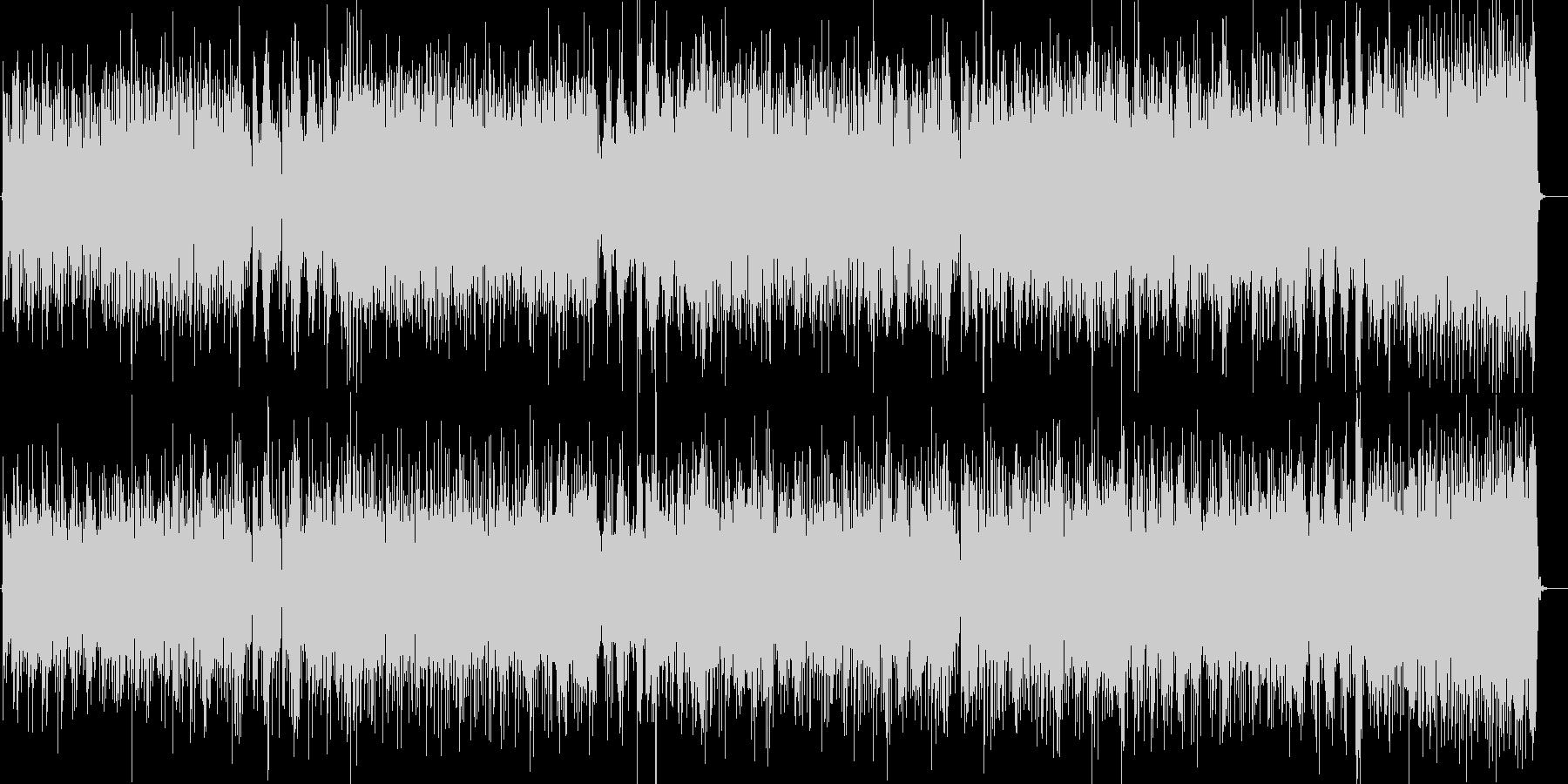 オンザコーナー電化マイルスっぽいファンクの未再生の波形