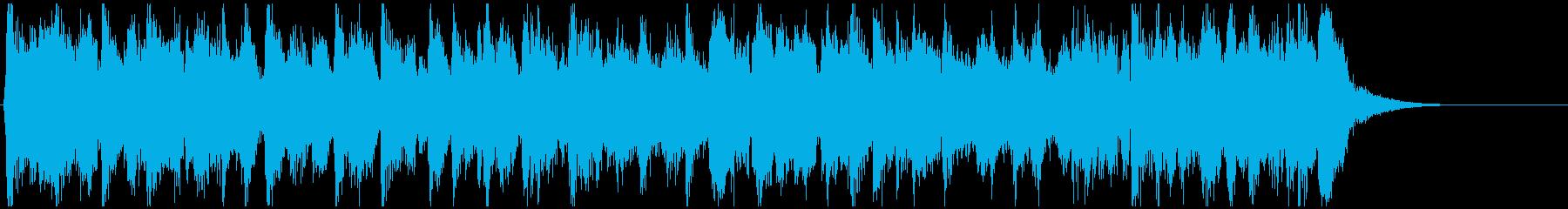 超ノリノリ生音系ディスコ◆15秒ジングルの再生済みの波形