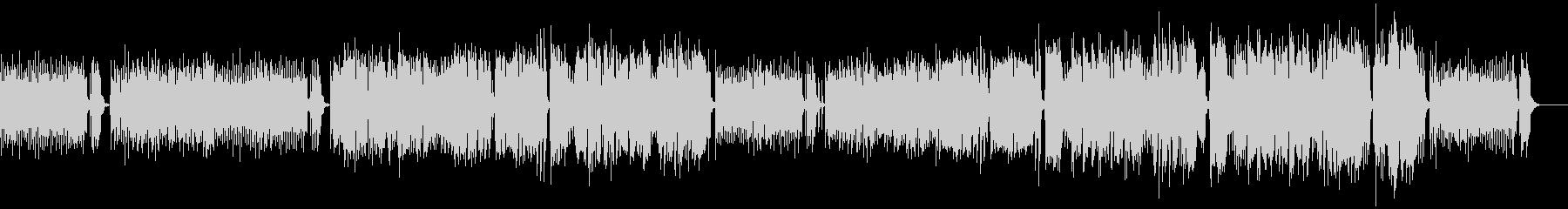 男性ボーカル2人とアコギとエレキの生演奏の未再生の波形