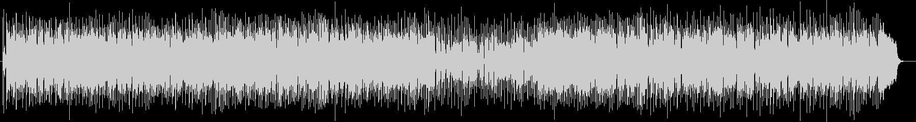 軽快でミディアムテンポが特徴のポップスの未再生の波形