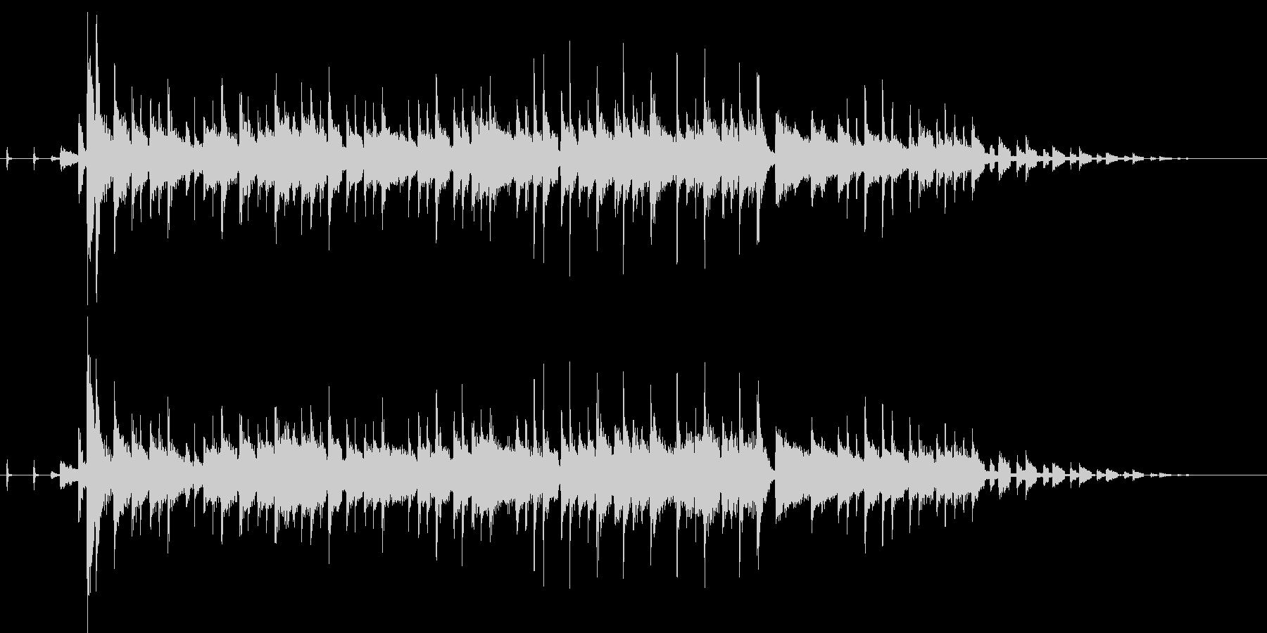 オルガンセッションのジングルの未再生の波形