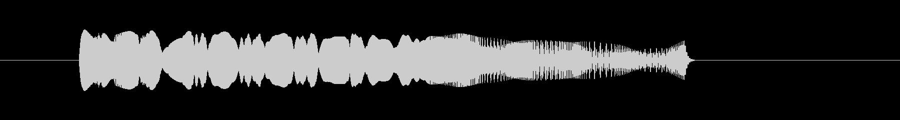 かわいいキャラの動き_右往左往orピヨりの未再生の波形
