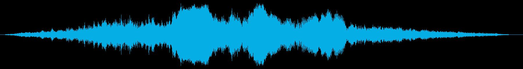 【ダークアンビエント】薄暗い黄泉の国_2の再生済みの波形
