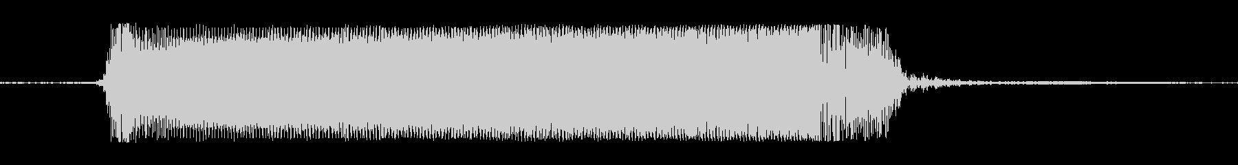 ギターメタルパワーコードzvの未再生の波形