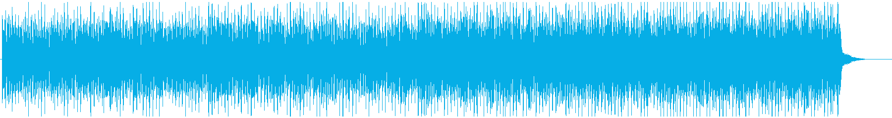 EDM風のクールなゲームミュージックの再生済みの波形