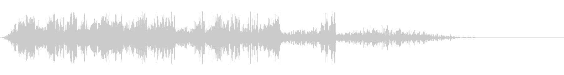 DJスクラッチ01_リバース音01の未再生の波形