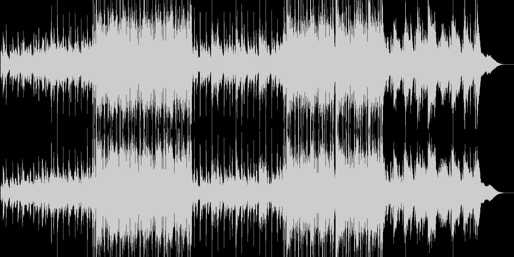ビートの効いたゆったりバラードの未再生の波形