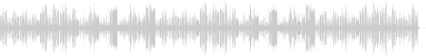 リコーダーの日常のんびり曲_ロングの未再生の波形