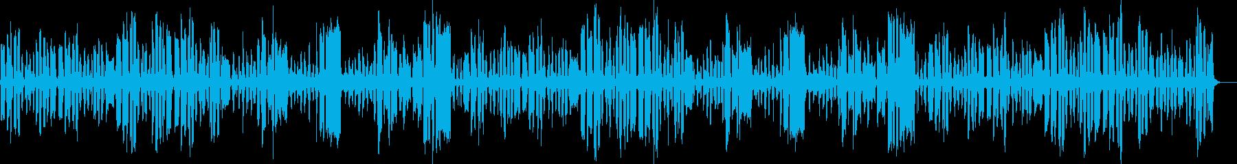 リコーダーの日常のんびり曲_ロングの再生済みの波形