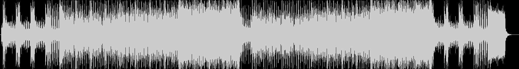 ピアノイントロ、キラキラしたJPOP風aの未再生の波形