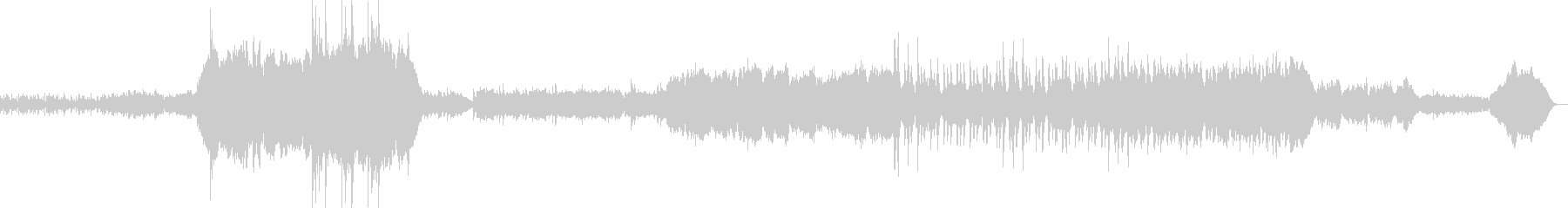オーケストラによるRPGオープニングの未再生の波形