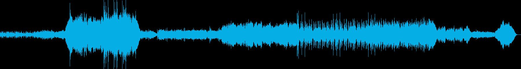 オーケストラによるRPGオープニングの再生済みの波形