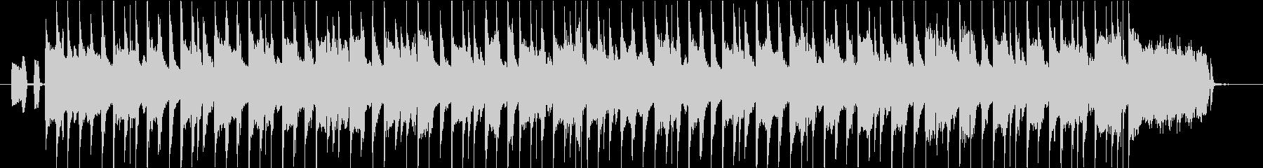 ウキウキするような3拍子アコーディオンの未再生の波形