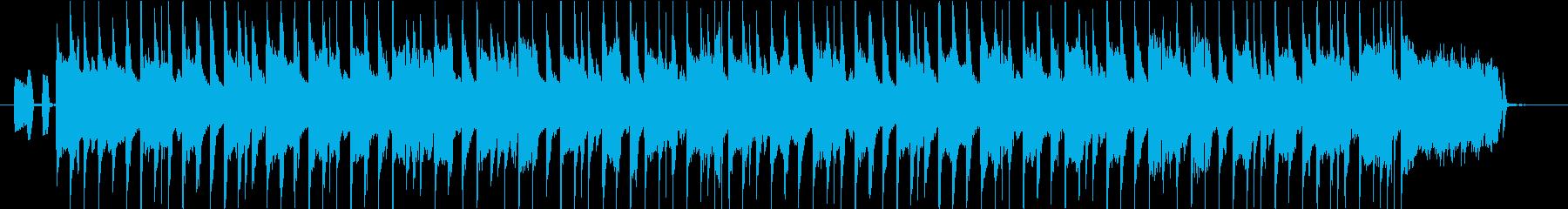 ウキウキするような3拍子アコーディオンの再生済みの波形