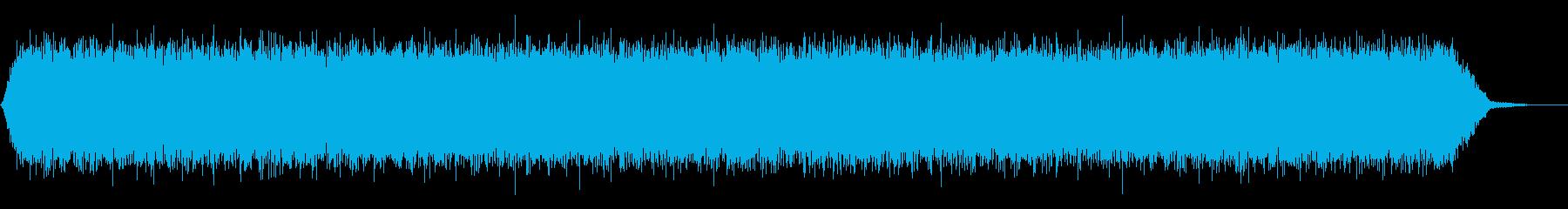 【アンビエント】ドローン_37 実験音の再生済みの波形