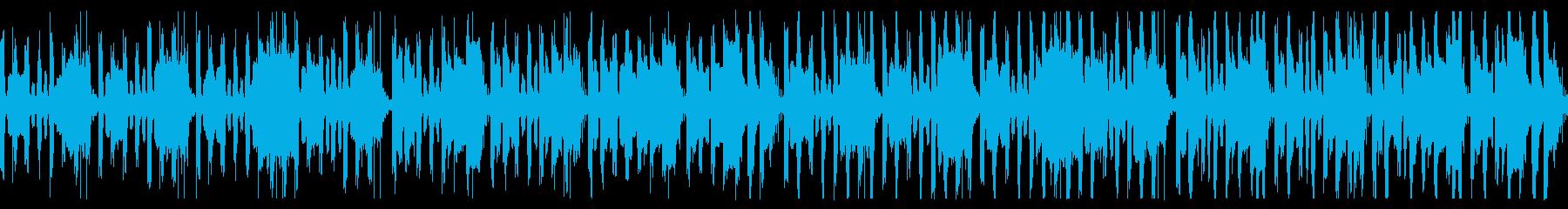 楽しい、かわいい、シンプルな行進曲ループの再生済みの波形