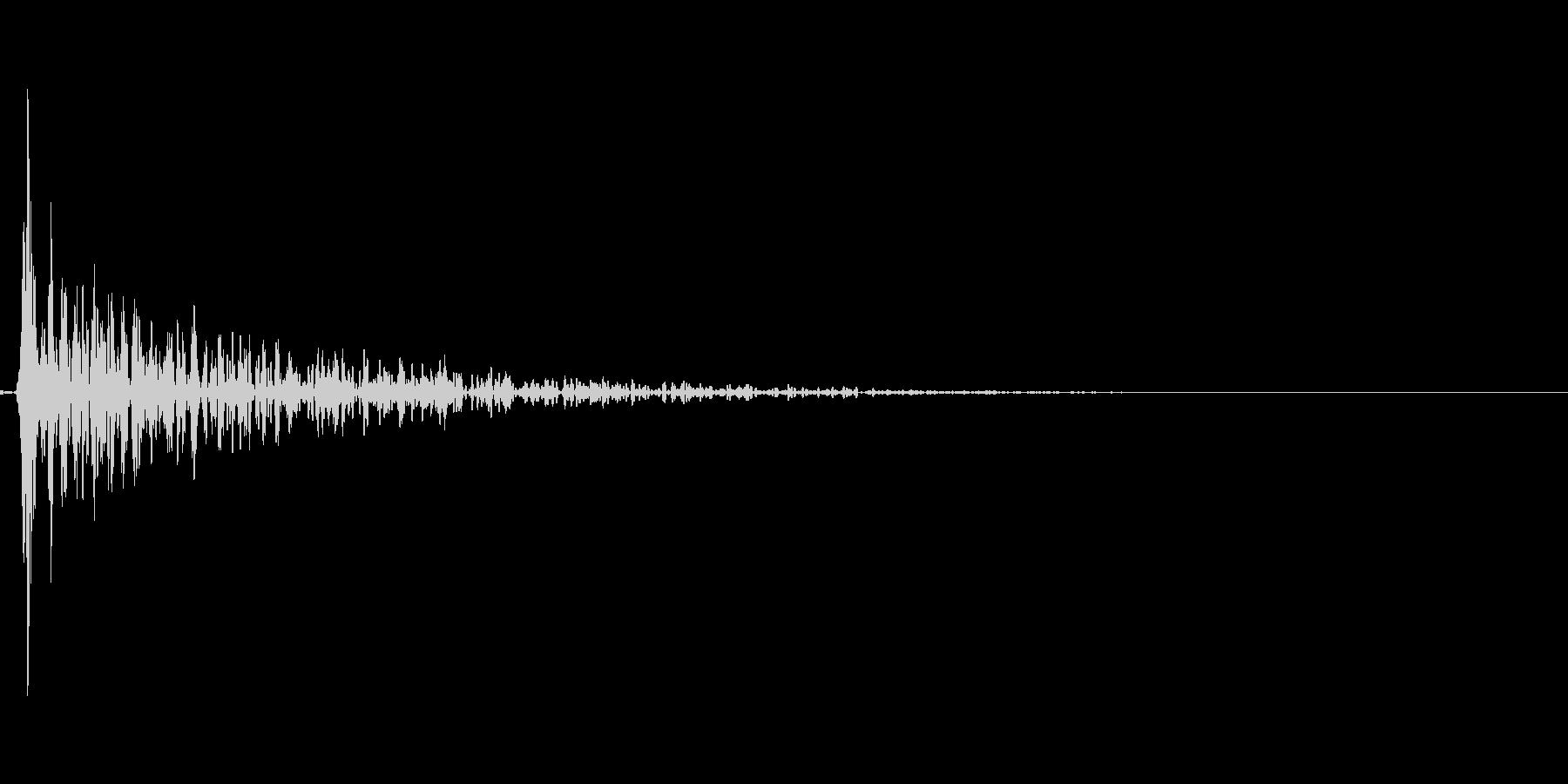 インパクトスリンキーサブクワッドXの未再生の波形