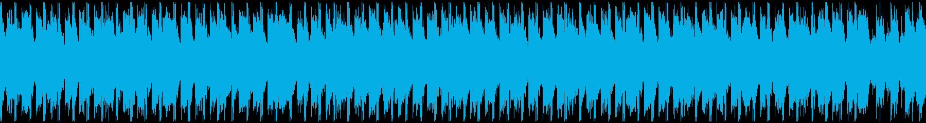 サマーポップ(ループ-30秒)の再生済みの波形
