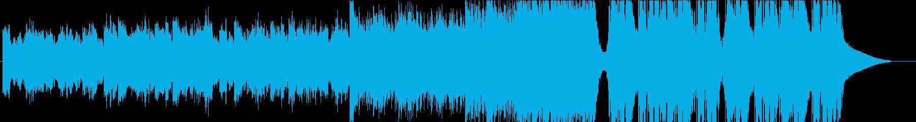 Future Bass アンビエントの再生済みの波形