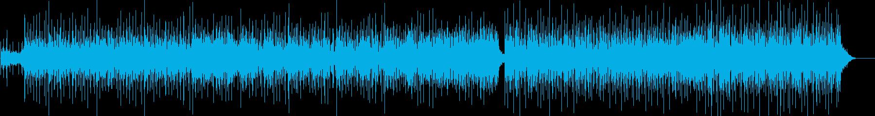 ダウンテンポのリズムを備えたトリッ...の再生済みの波形