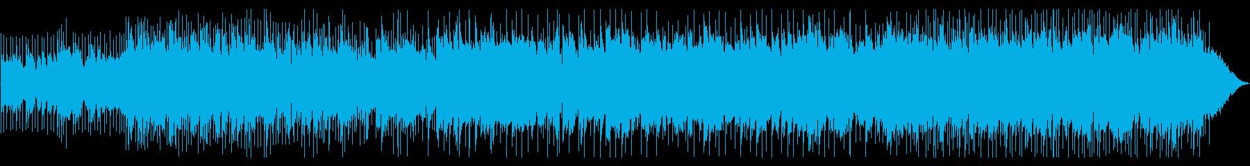 爽やかなポップBGMの再生済みの波形