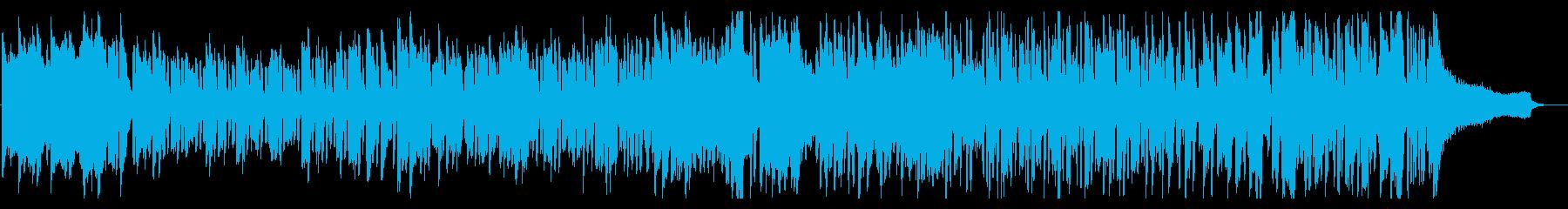 ラテンリズムに大人っぽい雰囲気のピアノ曲の再生済みの波形