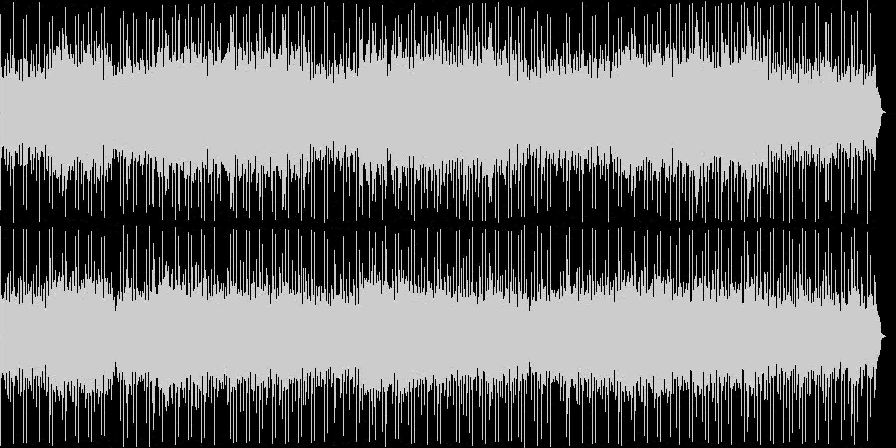 リズミカルで洗練された和風ロックの未再生の波形