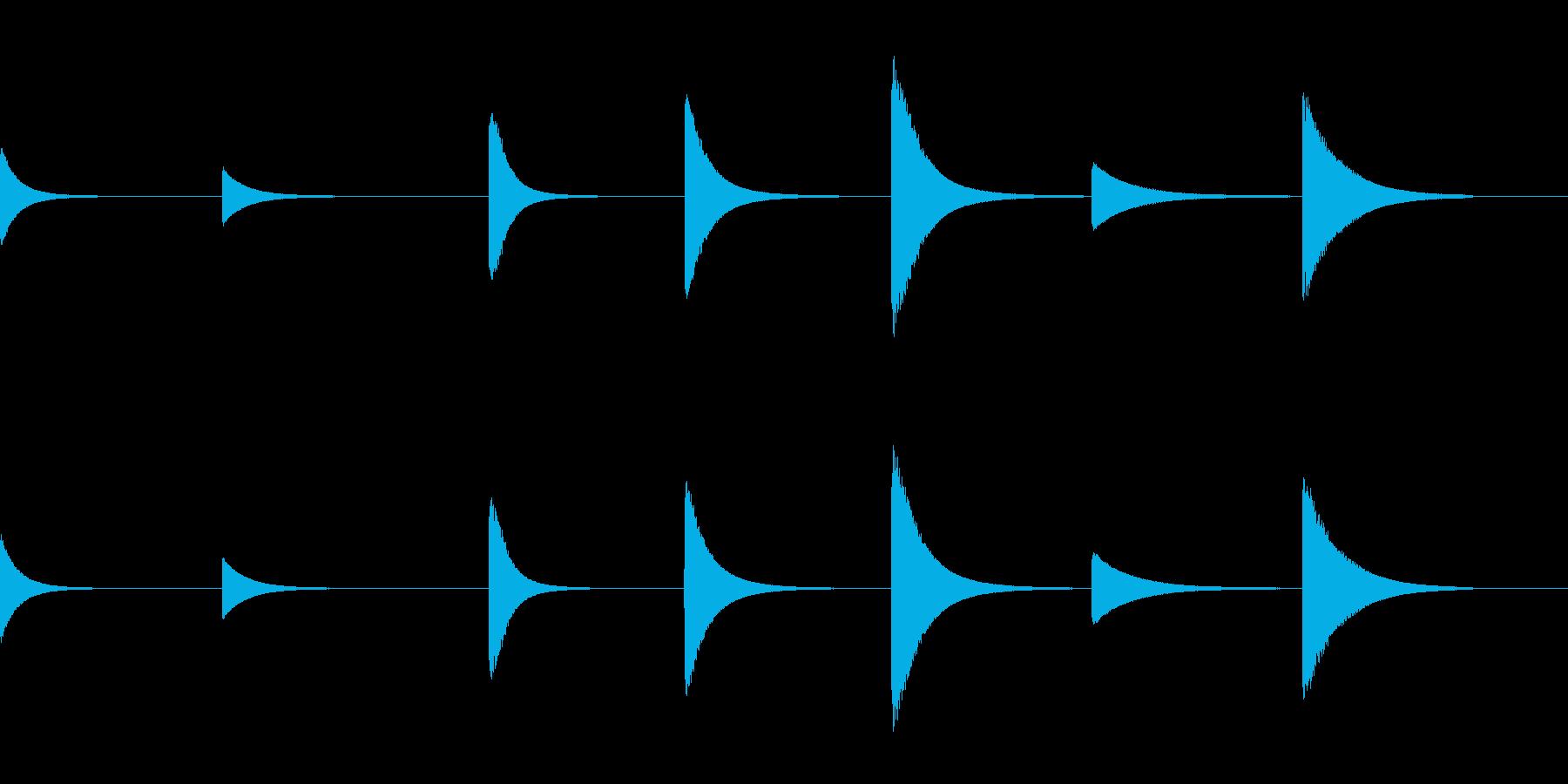 スペースチャイム、いくつかのヒット...の再生済みの波形