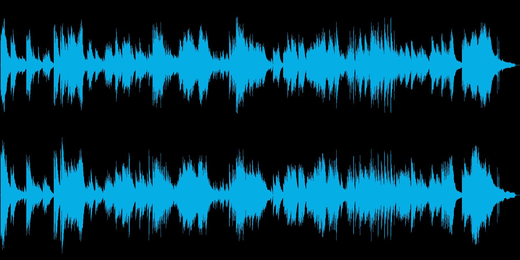 ピアノソロ曲です。ライブ感を重視して制…の再生済みの波形
