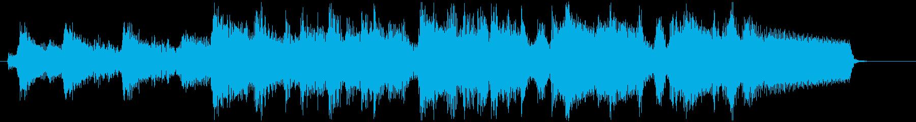 場面転換に最適な軽快なボサノバジングルの再生済みの波形