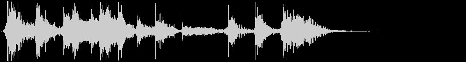 slapBassのファンキージングル2の未再生の波形