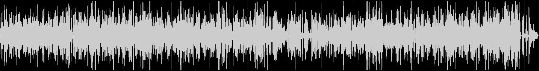 楽しい・汎用性のあるジャズピアノBGMの未再生の波形