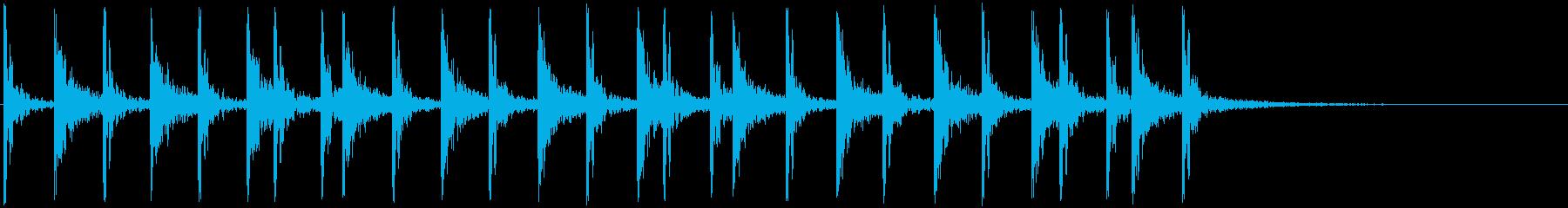 低音:グルーヴィーなリズム、漫画コ...の再生済みの波形