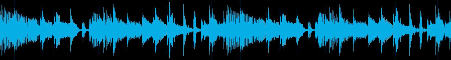 ファンキーなジャズナンバー...ま...の再生済みの波形