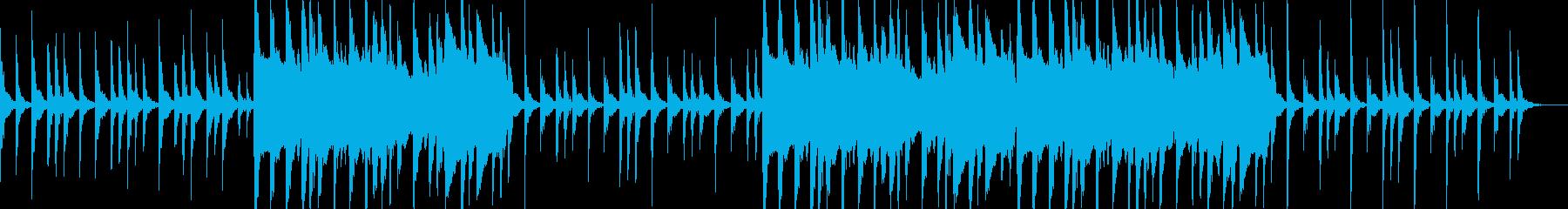 沖縄風BGM。三線などの再生済みの波形
