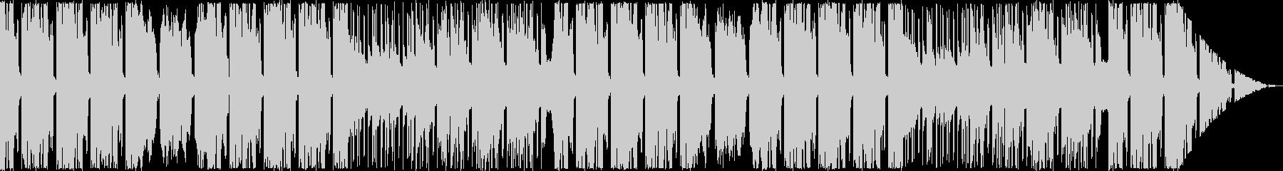 オシャレなFuture Bassの未再生の波形