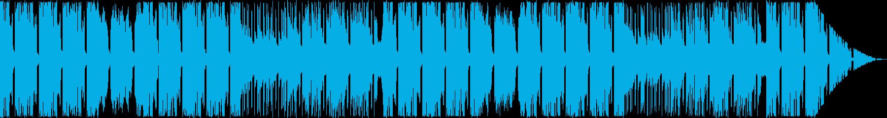 オシャレなFuture Bassの再生済みの波形