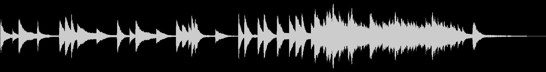 SNS広告 ピアノメイン 感動の未再生の波形