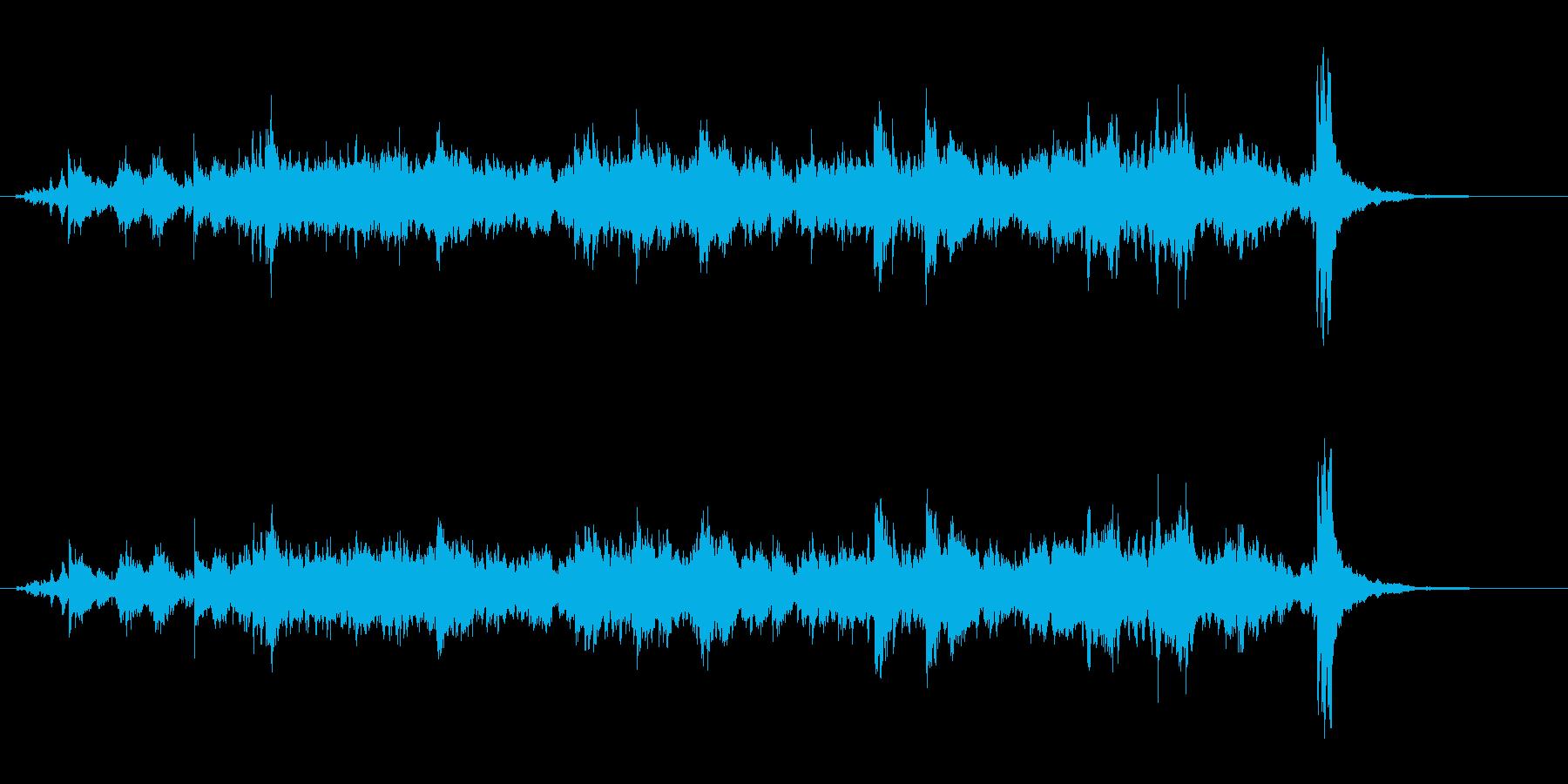 ブラスベルクラスターリングの再生済みの波形