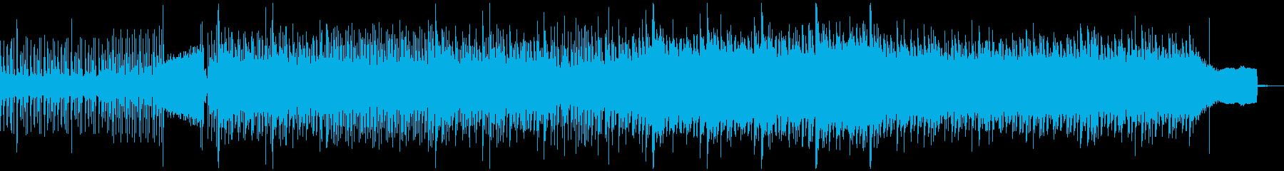 三味線が熱い和風テクノ・ロック・バトルの再生済みの波形