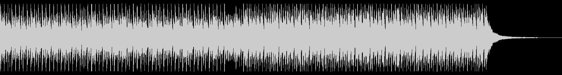 ショートver 青空 ポジティブ ピアノの未再生の波形