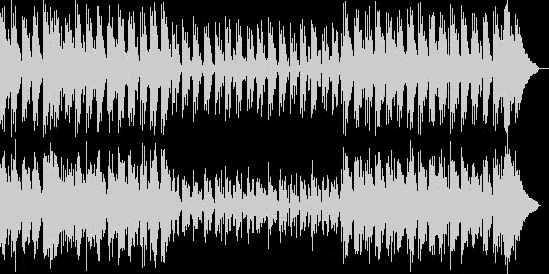 しっとりして浮遊感のあるインストの未再生の波形