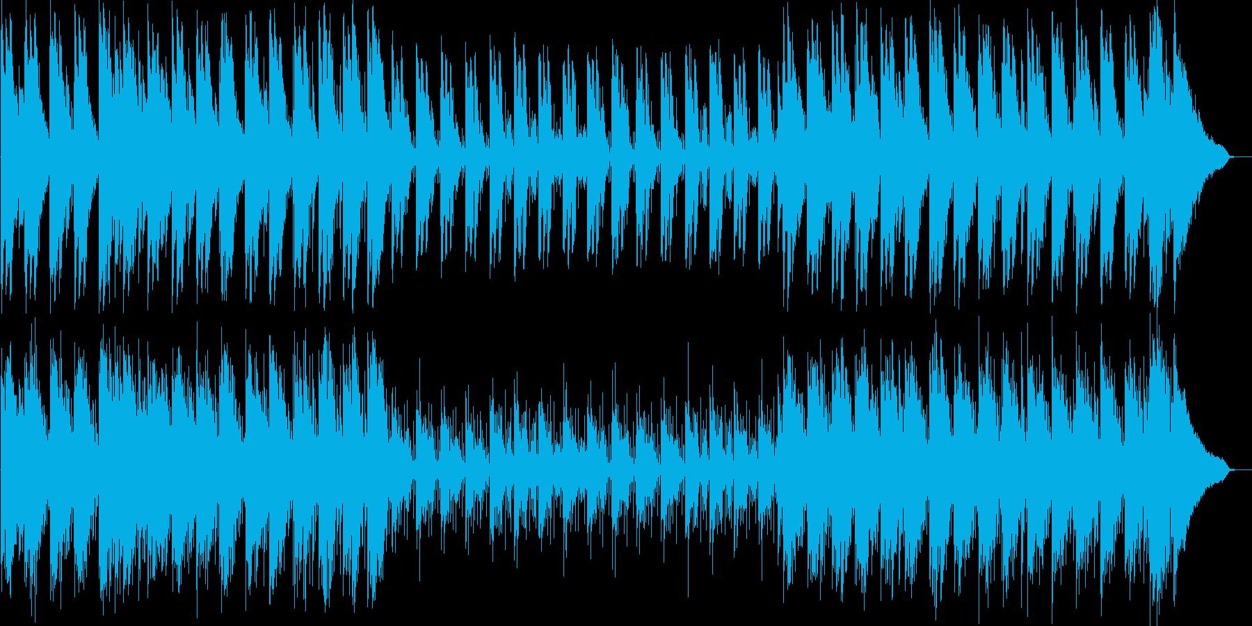 しっとりして浮遊感のあるインストの再生済みの波形